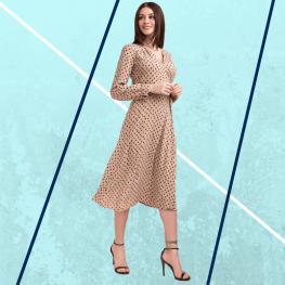 Весеннее платье... или женственность всегда в моде.
