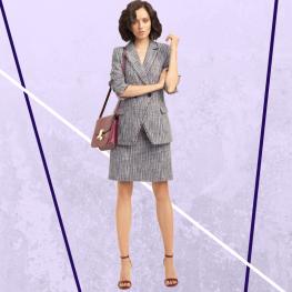 Діловий костюм в жіночому гардеробі.