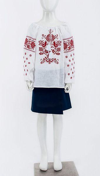 Фото bluza-petuski-01 товару Блуза Півники
