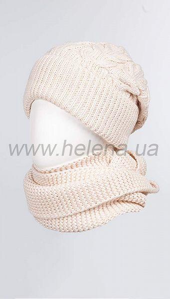 Фото 103380-811 товару Комплект (шапка+шарф) 1023 мол