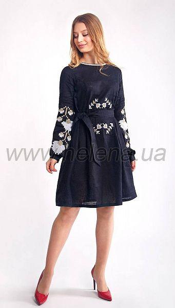 Фото plate-boana-cern-1 товара Платье Бояна черн