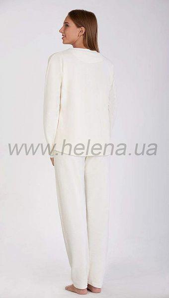 Фото 1032722 товару Піжама жіноча велюрова з кишенею