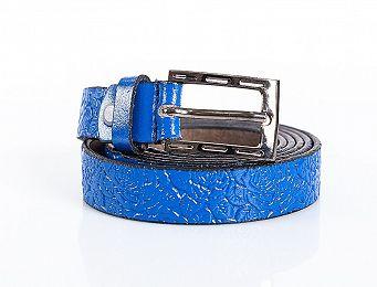 Фото remen-belts-20z-cvety-sin товара Ремень Belts 20ж цветы син